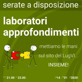 14 gennaio 2020 – laboratori e approfondimenti