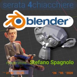 26 maggio 2020 – serata 4 chiacchiere su Blender